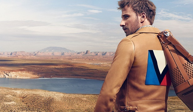 Маттиас Шонартс в мужской кампании Louis Vuitton