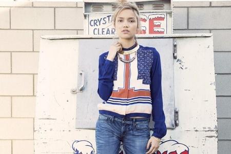 Лукбук коллекции одежды марки Levi's Весна/Лето 2014