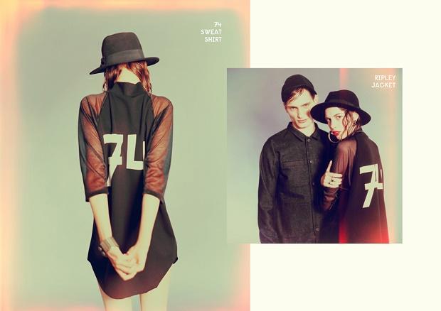 Лукбук коллекции одежды марки Ethel Vaughn Весна/Лето 2014