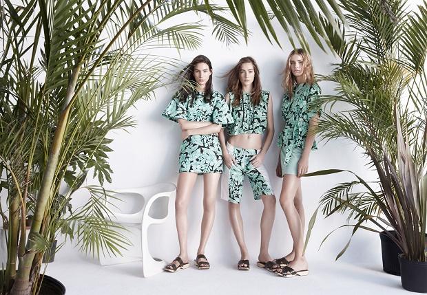 Лукбук коллекции одежды марки Zara Woman Весна/Лето 2014