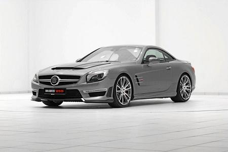 Тюнинг-ателье Brabus представили 850-сильный родстер Mercedes-Benz SL 63 AMG