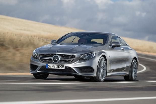 Опубликованы первые изображения Mercedes-Benz 2015 S-Class Coupe