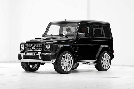 Mercedes-Benz G500 SWB 6.1 Widestar от ателье Brabus