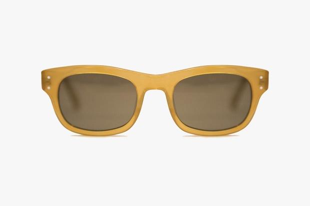 """Солнцезащитные очки NEBB """"Golden Olive"""" от Moscot 2014"""