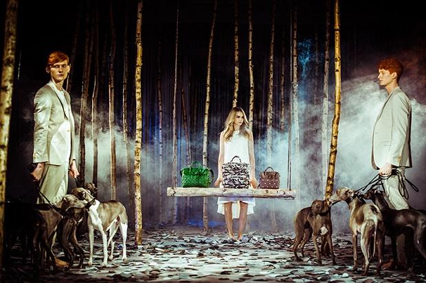 Кара Делевинь представила новую коллекцию Mulberry Весна/Лето 2014