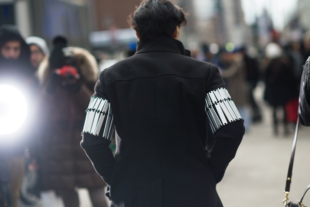 Уличный стиль: Неделя моды в Нью-Йорке Осень/Зима 2014. Часть II