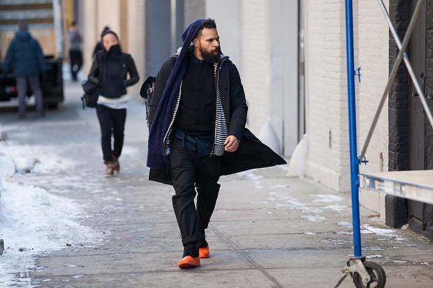 Уличный стиль: Неделя моды в Нью-Йорке Осень/Зима 2014. Часть IV