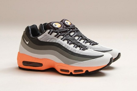 "Кроссовки Nike Air Max 95 No Sew ""Light Base Grey/Summit White-Iron"""