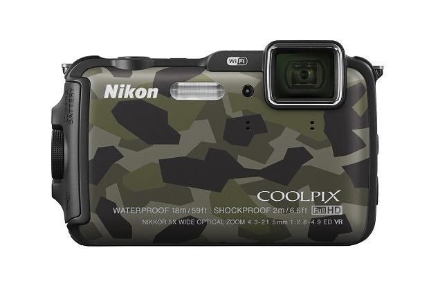 Камера Nikon Coolpix AW120