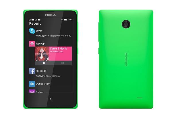 Смартфон Nokia X с поддержкой Android