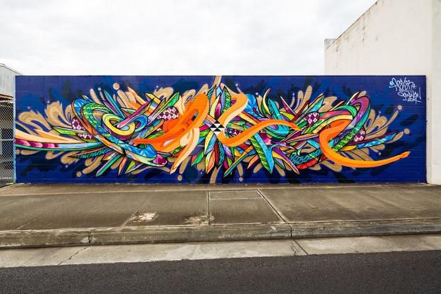 Гавайский фестиваль граффити POW! WOW! 2014