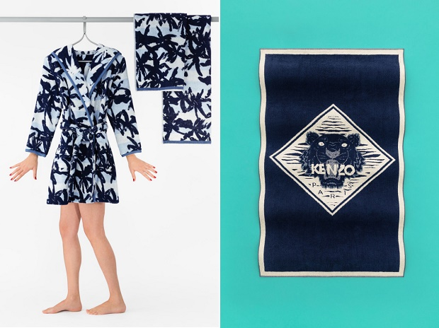Новая рекламная кампания KENZO Весна/Лето 2014 от Цю Ян
