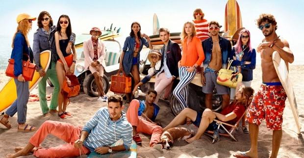 Рекламная кампания Tommy Hilfiger Весна/Лето 2014