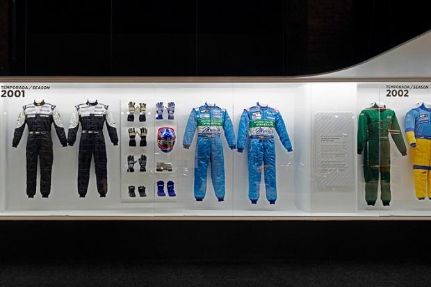 Выставка в честь испанского автогонщика Фернандо Алонсо