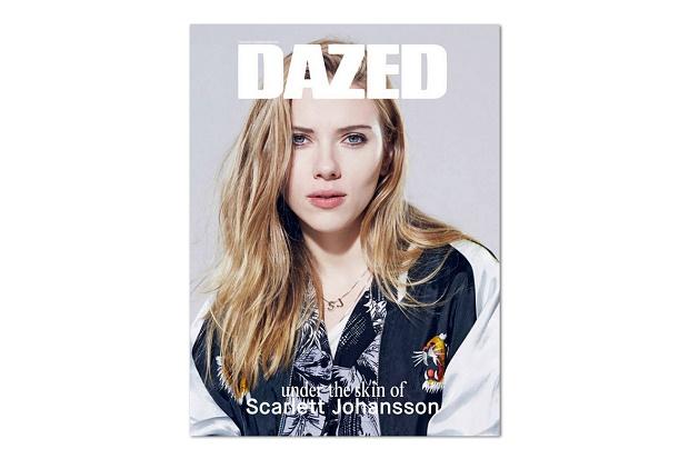 Обновленный Dazed со Скарлетт Йоханссон
