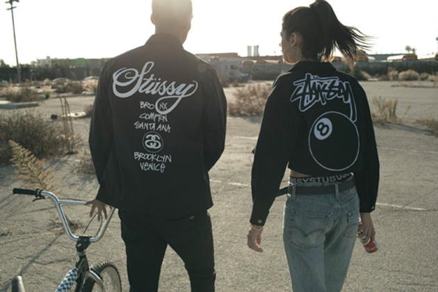 Лукбук коллекции одежды марки Stussy Women Весна/Лето 2014