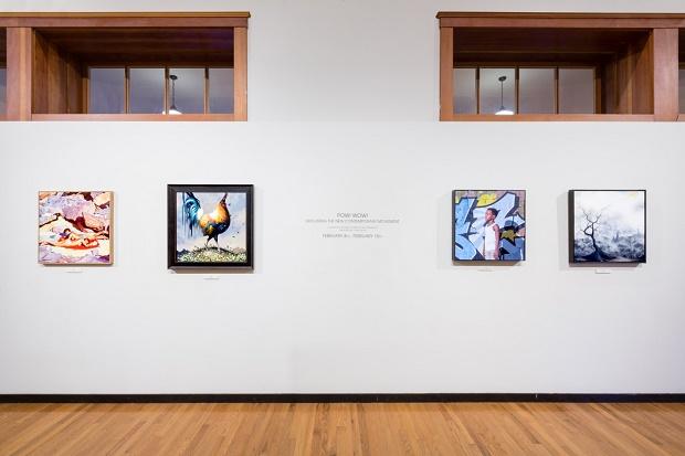 Групповая выставка POW WOW Hawai 2014 в Honolulu Museum of Art School