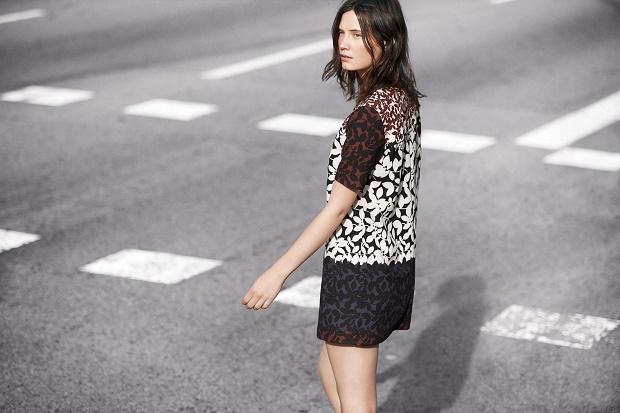 Лукбук новой коллекции одежды Zara Woman Февраль 2014