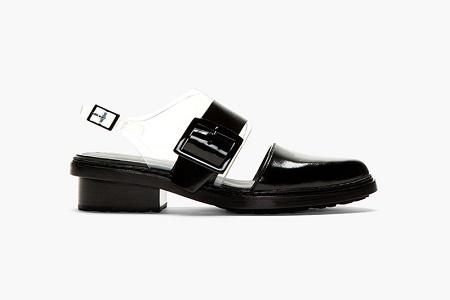 Обувь 3.1 Phillip Lim Black Leather & PVC Cristobal