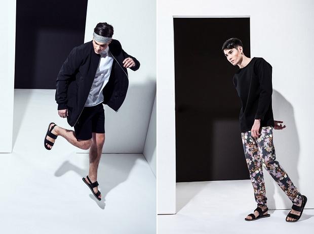 Лукбук коллекции одежды марки 3.PARADIS Весна/Лето 2014