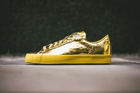 "Кеды JS Rod Laver ""Gold Foil"" от adidas Originals by Jeremy Scott Весна 2014"