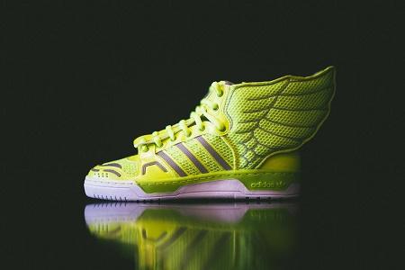 Кроссовки adidas Originals by Jeremy Scott Mesh Wings 2.0 Electric