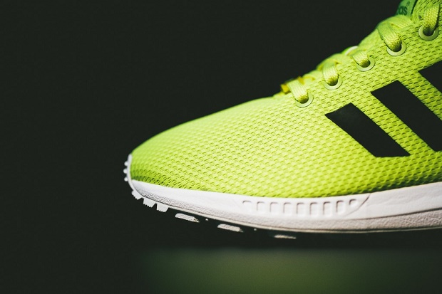 """Кроссовки adidas Originals ZX FLUX """"Electric Yellow"""""""