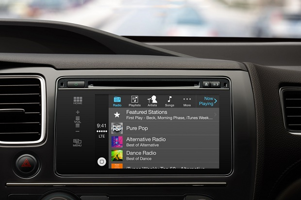 Apple CarPlay объединит iPhone с автомобилем