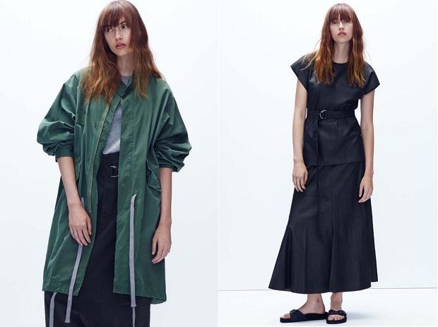 Лукбук коллекции одежды марки Bassike Весна/Лето 2014