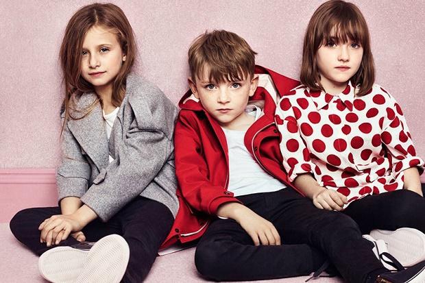 Рекламная кампания Burberry Childrenswear Весна/Лето 2014
