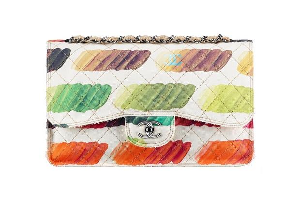 Разноцветная палитра Chanel Paint Palette Canvas Flap