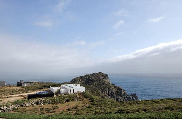 Дом на берегу Тихого океана в Чили