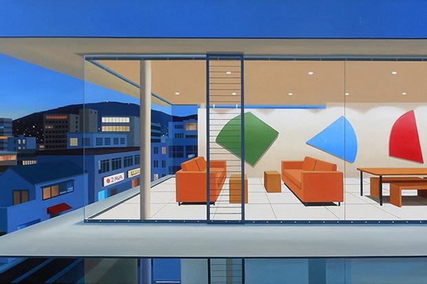 Элитные дома и интерьеры на картинах Тома МакКинли