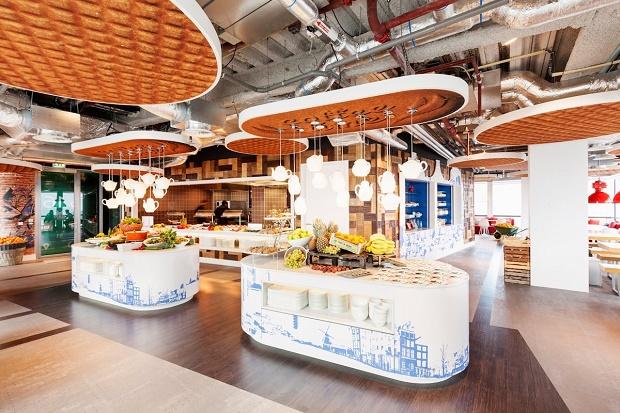 Офис Google в Амстердаме от бюро D/DOCK
