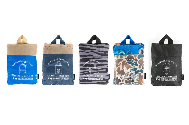 Коллекция Herschel Supply Co. Packable сезона Весна/Лето 2014