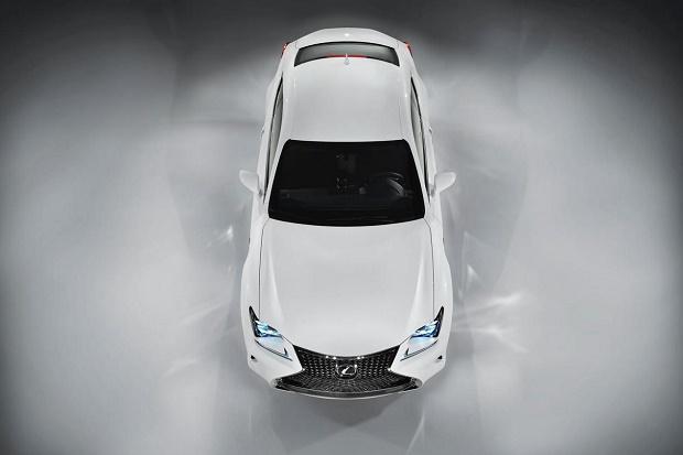 Lexus показал купе RC 350 F
