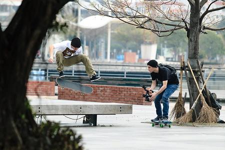 Команда LRG Skate в Тайване