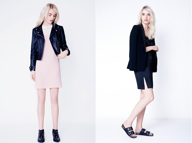 Лукбук коллекции одежды марки CLAUDIE PIERLOT Весна/Лето 2014