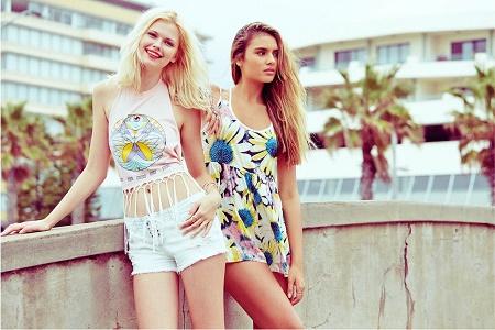 Лукбук коллекции одежды марки LF Stores Весна 2014