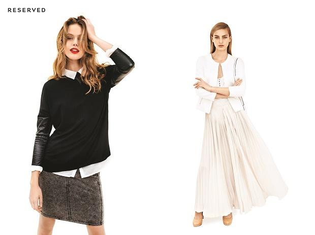 Лукбук коллекции одежды марки Reserved Весна/Лето 2014