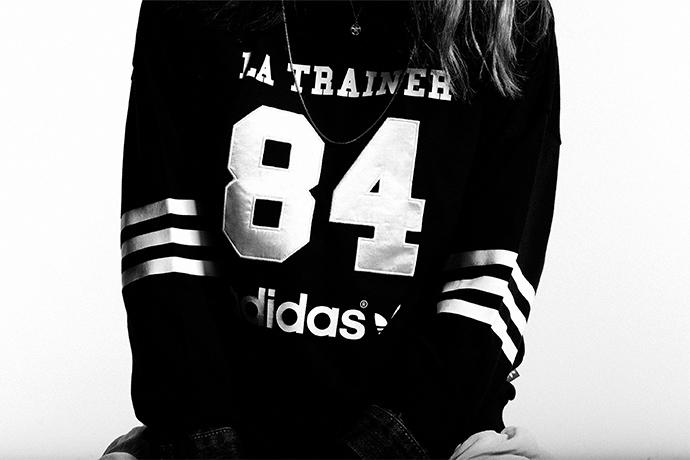 Лукбук новой коллекции adidas Originals Numbers Весна/Лето 2014