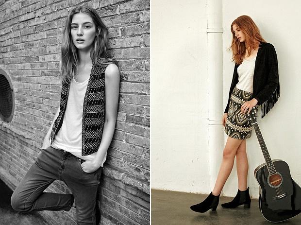 Лукбук коллекции одежды марки Mango Весна/Лето 2014