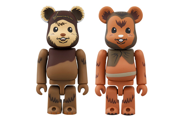 "Фигурки Star Wars x Medicom Toy Bearbrick 100% ""MAY THE FORCE BE WITH YOU"""