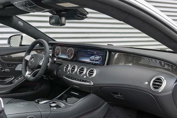 Mercedes-Benz официально представил S63 AMG Coupe