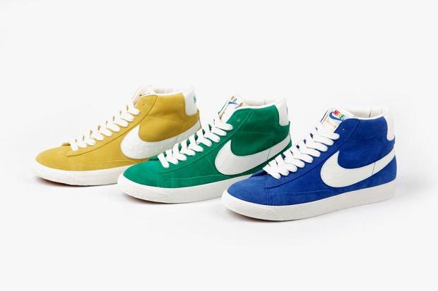 Коллекция кед Nike Blazer Mid Vintage Premium QS