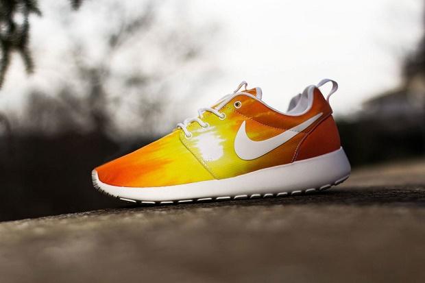 "Коллекция кроссовок Nike Roshe Run ""Sunset & Palm Trees"""