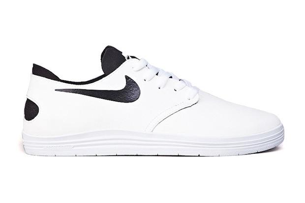 Кеды Nike SB Lunar One Shot White/Black