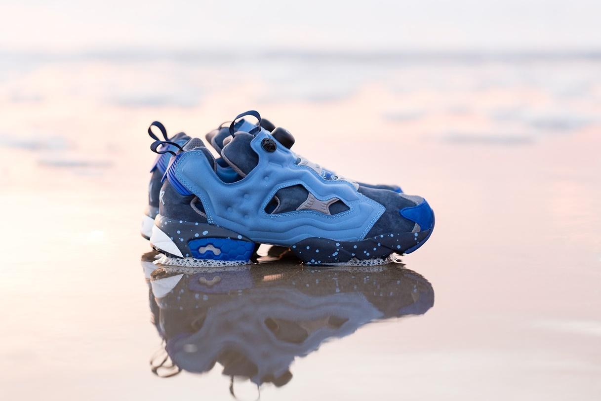 Кроссовки Packer Shoes x Stash x Reebok Instapump Fury