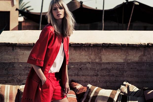 Рекламная кампания Escada Весна/Лето 2014