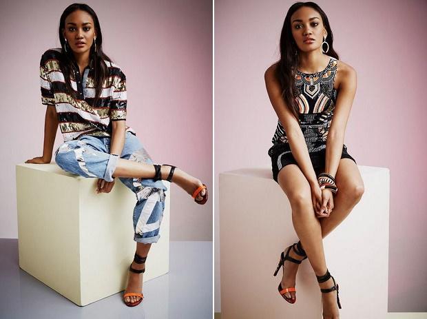 Лукбук коллекции одежды марки River Island Весна 2014